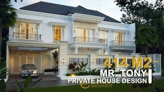 Video Mr. Tony Classic House 2 Floors Design - Jambi