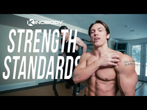 The Strength Standards for the Greek God Physique