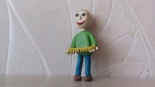 Лепим персонажа Балди!⛺Урок от Ксении Курдияш!!!!