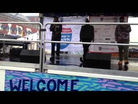 "Troy B's ""Hypnotized"" Verse At South Street Seaport"