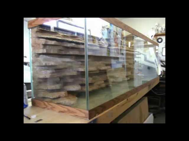How To Make A Diy Aquarium Background Please Respond Aquatic Videos