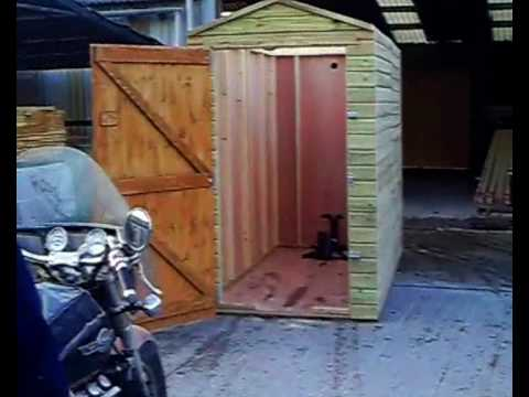 Motorcycle Shed Internet Plans