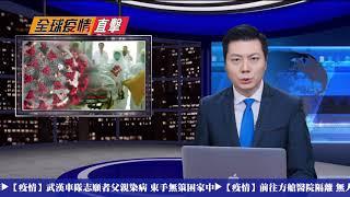 【全球疫情直擊】🔥誤信親共WHO 日本疫情失控 🔥美軍方深度介入 防堵武漢肺炎 | 20200216
