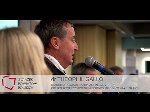 ZO ZPP: przemówienie Starosty Powiatu Saarpfalz dra Theophila Gallo