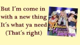 Ice Cream Freeze (Karaoke/Instrumental) - Hannah Montana 3