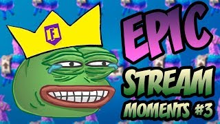 ЭПИЧНЫЕ МОМЕНТЫ СО СТРИМА KEKISTAN KING #3 (Fortnite: Battle Royale best moments)