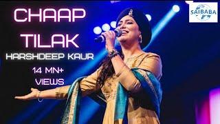 CHAAP TILAK   Harshdeep Kaur   SUFI MUSIC   JUNOON   Saibaba Studios