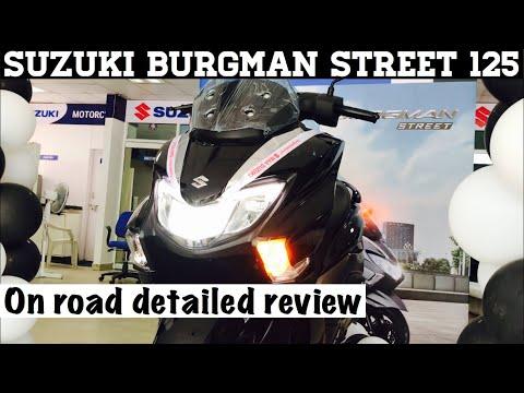 Suzuki burgman street 125 Detailed review