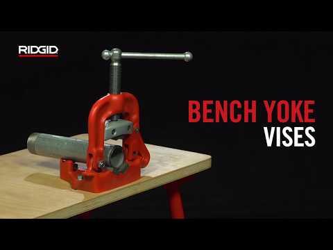 Bench Yoke Vises Threading Amp Pipe Fabrication Ridgid Tools