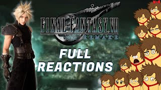 Final Fantasy 7 Remake | FULL GAME REACTIONS