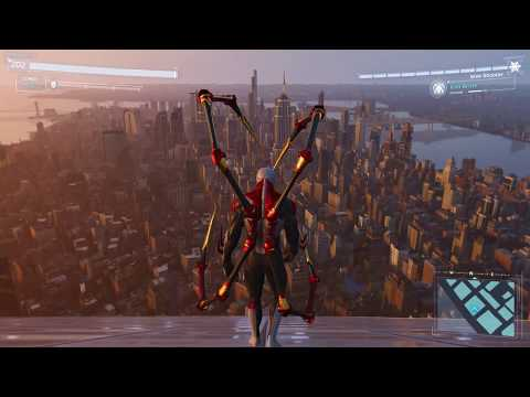 Spider-Man PS4 - Jumping Off Highest Building In Spiderman 2099 Suit (All Weathers) Freedom Tower