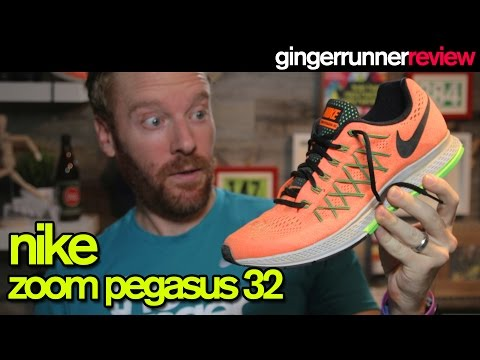 NIKE ZOOM PEGASUS 32 REVIEW | The Ginger Runner