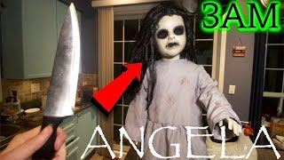 (SCARY) ONE MAN HIDE & SEEK WITH POSSESSED ANGELA DOLL AT 3AM CHALLENGE