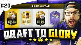 AMAZING SUPER BENCH FUT DRAFT!! - Draft to Glory #20 - FIFA 16 Ultimate Team