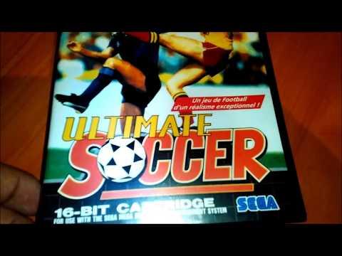 Ultimate Soccer Sega Mega Drive