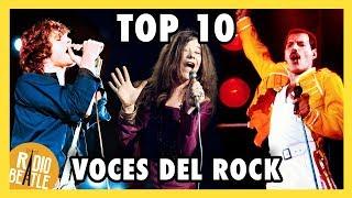 Las 10 Mejores VOCES del ROCK | Radio-Beatle
