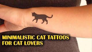 Minimalistic Cat Tattoos For Cat Lovers | TATTOO WORLD