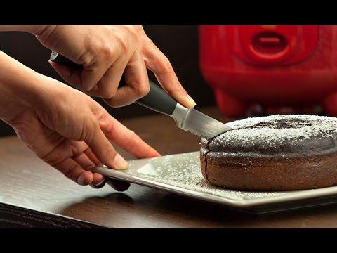 Video (Eng Sub) Cara Membuat Bolu Coklat Dengan Rice Cooker - Rice Cooker Chocolate Cake -Tanpa Oven