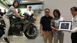 Pengusaha Kalimantan Satu-satunya Pemilik Ninja H2 Carbon di Indonesia, Segini Harga yang Dibayar