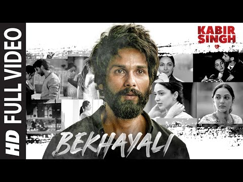 Download Bekhayali Full Song | Kabir Singh | Shahid K,Kiara A|Sandeep Reddy Vanga | Sachet-Parampara | Irshad HD Mp4 3GP Video and MP3