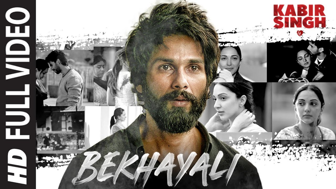 Bekhayali Lyrics in Hindi & English -Sachet Tandon -Shahid K,Kiara A