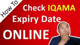 How Check Iqama Expiry Date in Saudi Araba - Urdu Hut