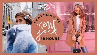 150 sq ft NYC Hotel | 48 Hours in New York City!