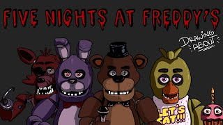 FIVE NIGHTS AT FREDDY'S | Draw My Life