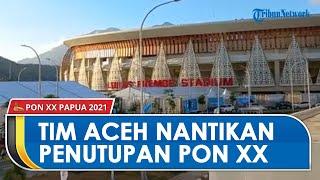 Penutupan PON XX Papua di Stadion Lukas Enembe, Kapten Tim Sepak Bola Aceh: Kami Sangat Antusias