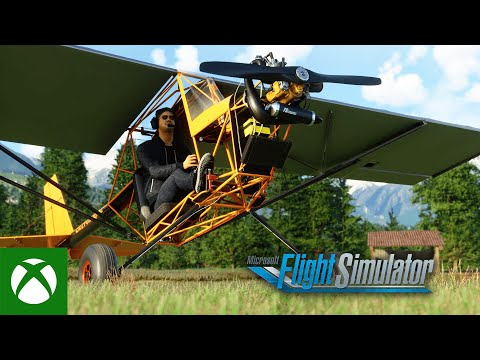 Microsoft Flight Simulator is adding its first-ever ultralight plane