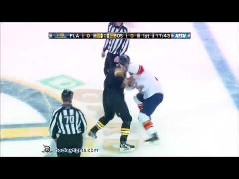 Shawn Thornton vs. Krys Barch