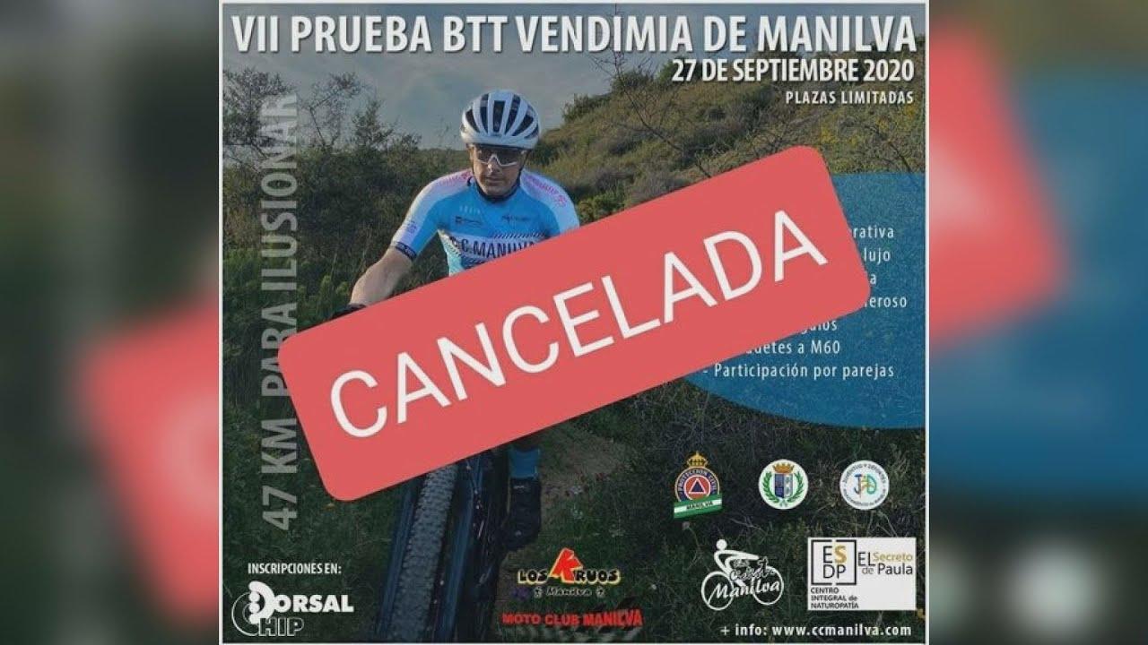 Cancelada la VII BTT de Manilva