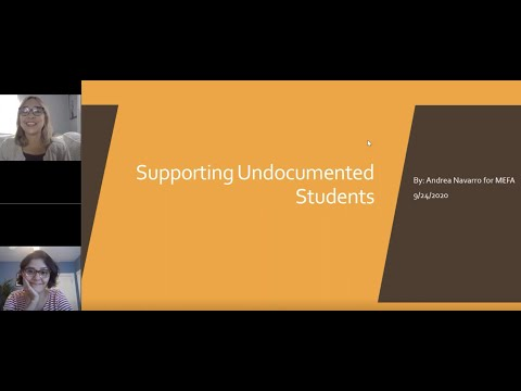 The MEFA Institute: Supporting Undocumented Students