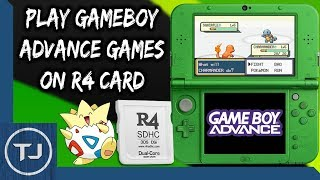 Play GameBoy Advance Games On Any R4 Card! (GBAEMU4ds)