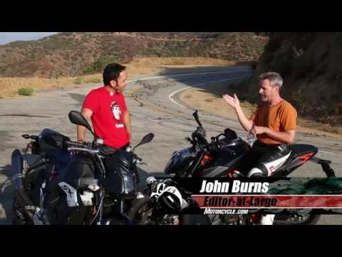 EBR 1190SX vs KTM 1290 Superduke 1290R Streetfighter Comp