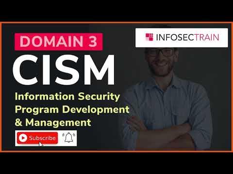 CISM Domain 3   CISM Training