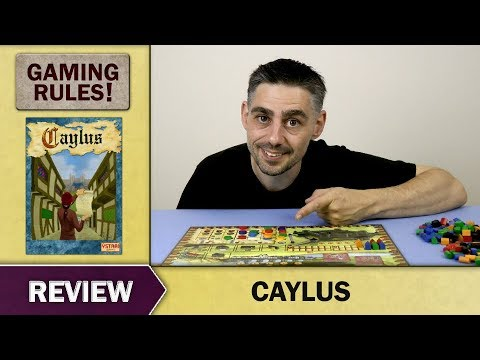 Gaming Rules! Review - Caylus