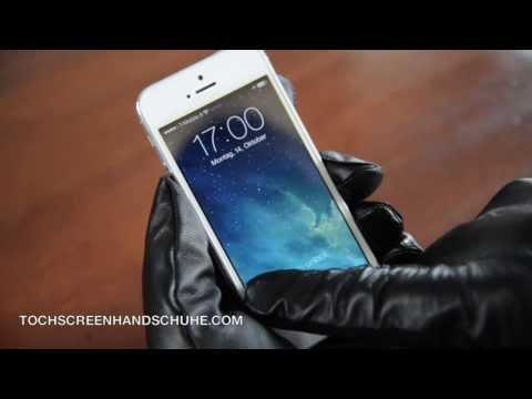 Touchscreen Handschuhe aus Leder im Test