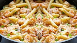 Yummy Shrimp Pasta Recipe