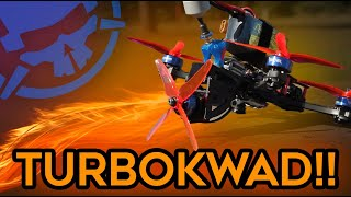 Turbo Kwad!! - the ULTIMATE Race Drone?