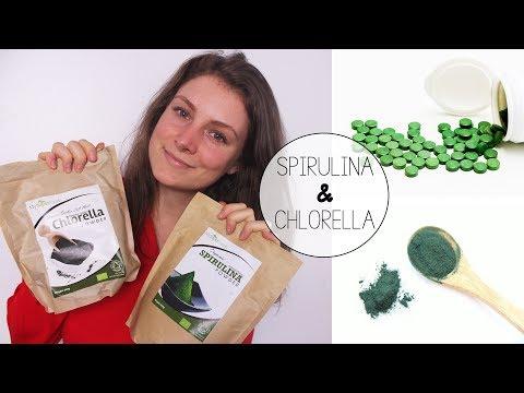 Superfoods Spirulina & Chlorella // Unterschied und Gesundheitliche Vorteile