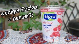alpro mehr Frucht ohne Zuckerzusatz   Der Test   FoodLoaf