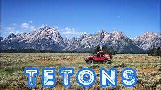 From Beautiful To Boring To A Good Night- Grand Tetons & Bypassing Yellowstone On Route 7- E16S2