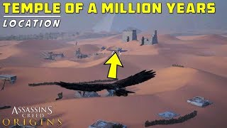 Temple of a Million Years Location | Letopolis | New Kid in Town | Assassin's Creed: Origins