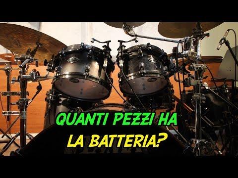 Quanti pezzi ha una batteria? - vlog 53