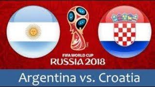 argentine vs Croatie all goals 21/06/2018  messi 😓😞