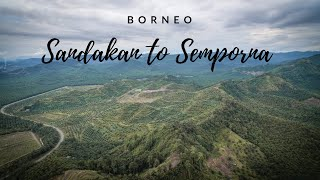 Driving From Sandakan To Semporna - Borneo