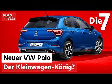 Immer noch der Kleinwagen-König? 7 Fakten zum neuen VW Polo | auto motor und sport