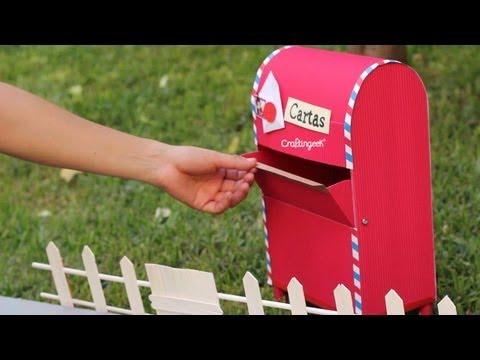 Haz tu propio buzon para cartas  // DIY Mailbox