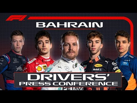 2019 Bahrain Grand Prix: Pre-Race Press Conference